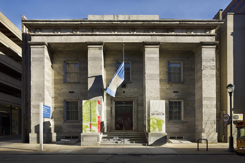 Exterior of Philadelphia History Museum